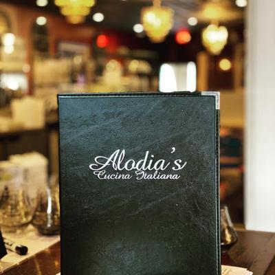 alodia's menu