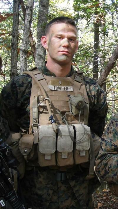 USMC Capt Nickolas Fowler
