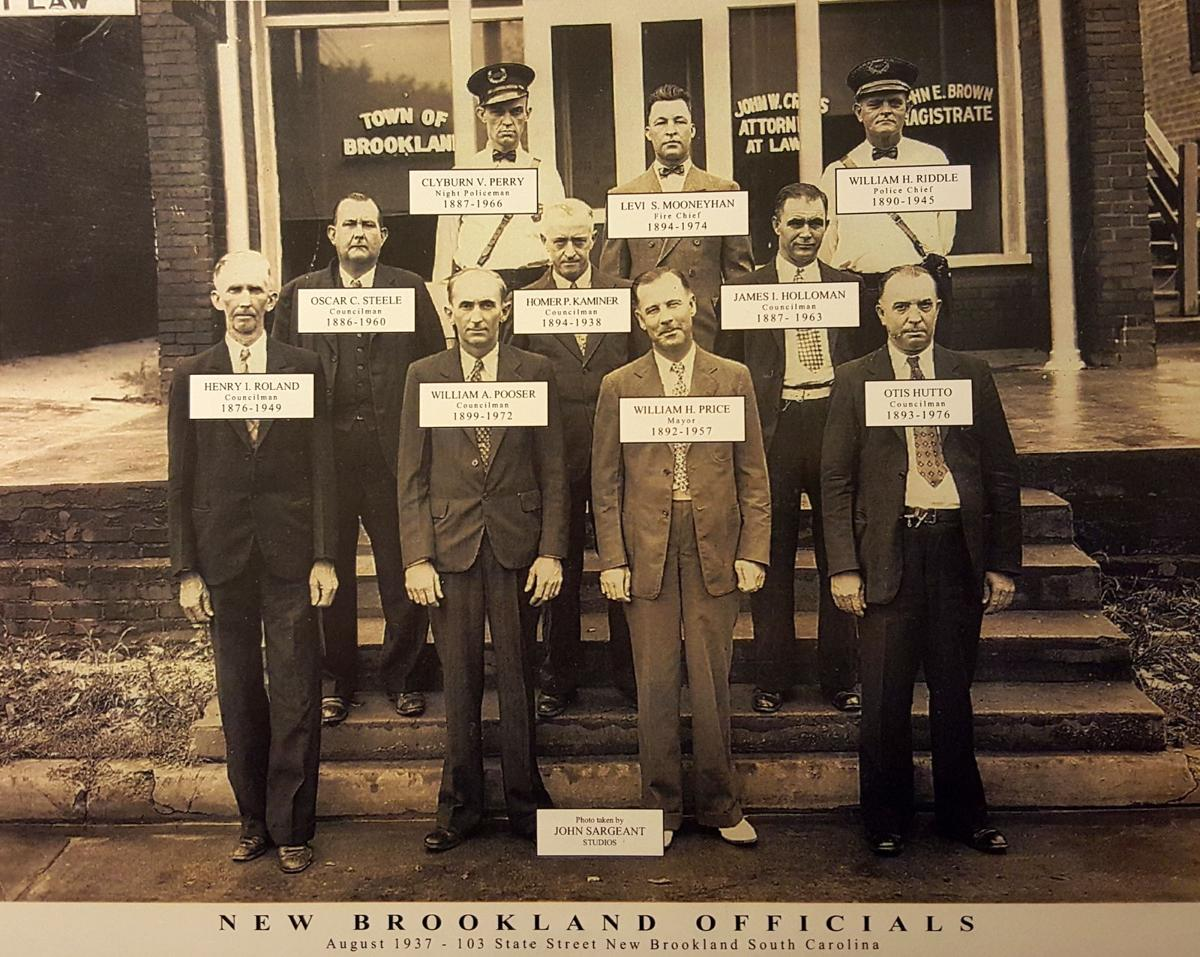 Brookland officials from years past