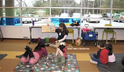 Richland library storytime
