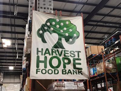 Harvest Hope sign
