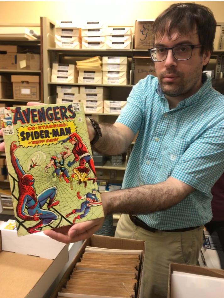 Shay presents Spider Man comic