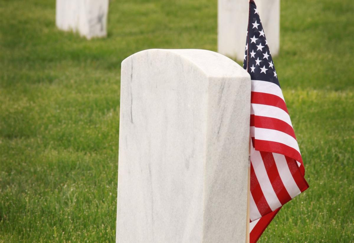 flag grave stone 2