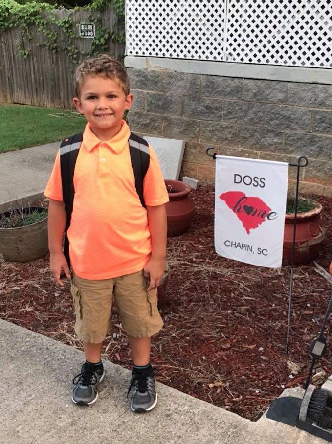Eli Doss, Chapin Elementary kindergartner