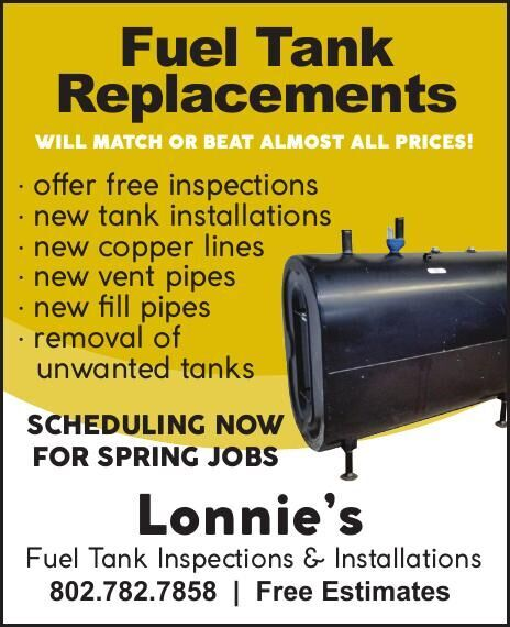 Lonnie's Fuel Tank