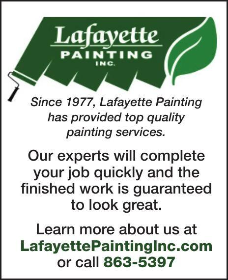 Since 1977, Lafayette Painting