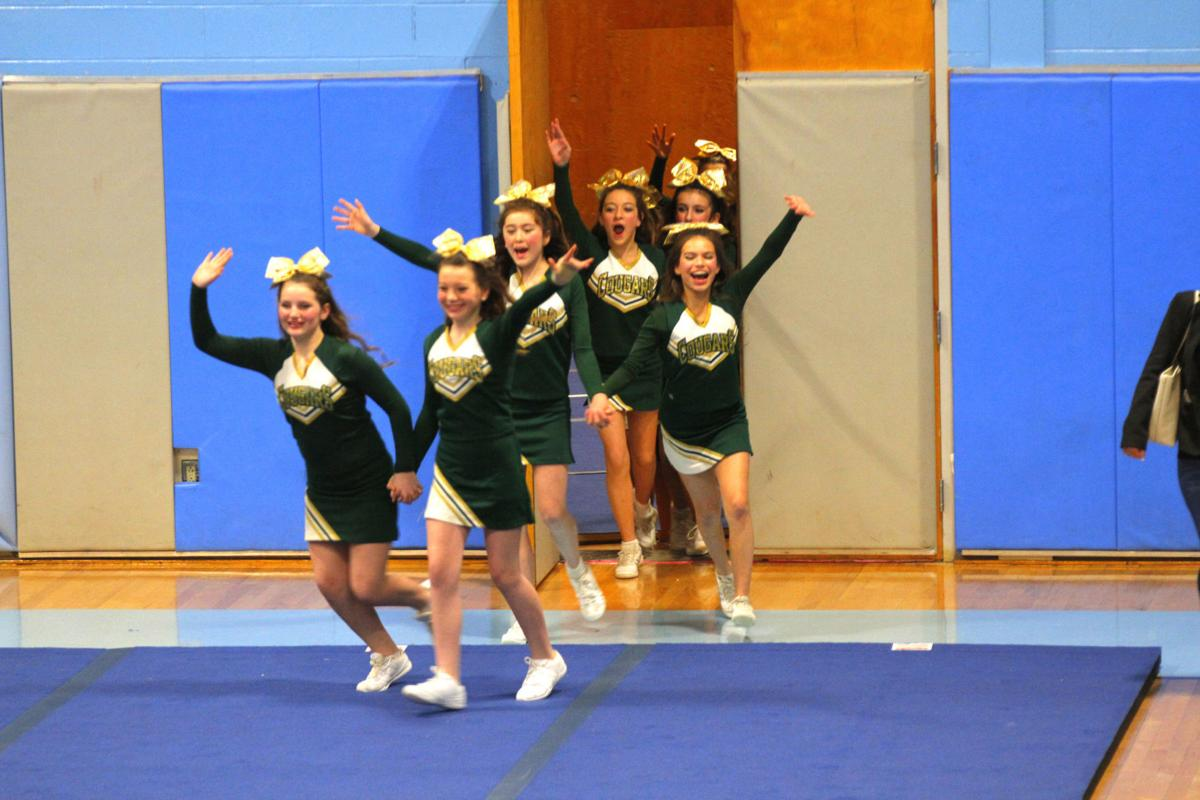 CMS Cheer takes second at NVAC competition