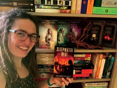 Local author brings real life to sci-fi