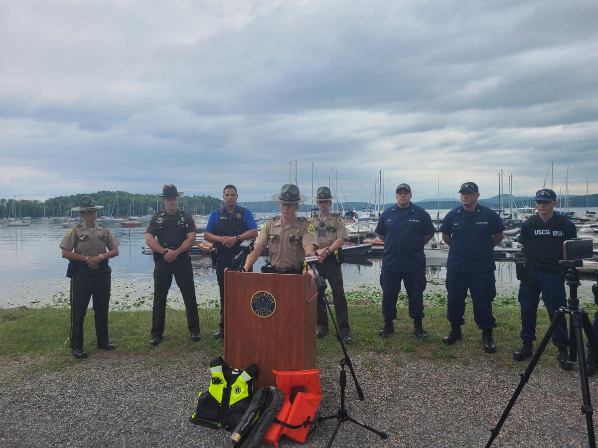 Marine officers news conference