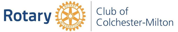 The Rotary Club of Colchester-Milton