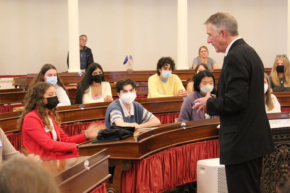 Gov. Scott speaks to students