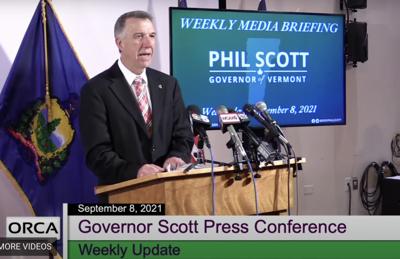 Gov. Phil Scott delivers weekly address