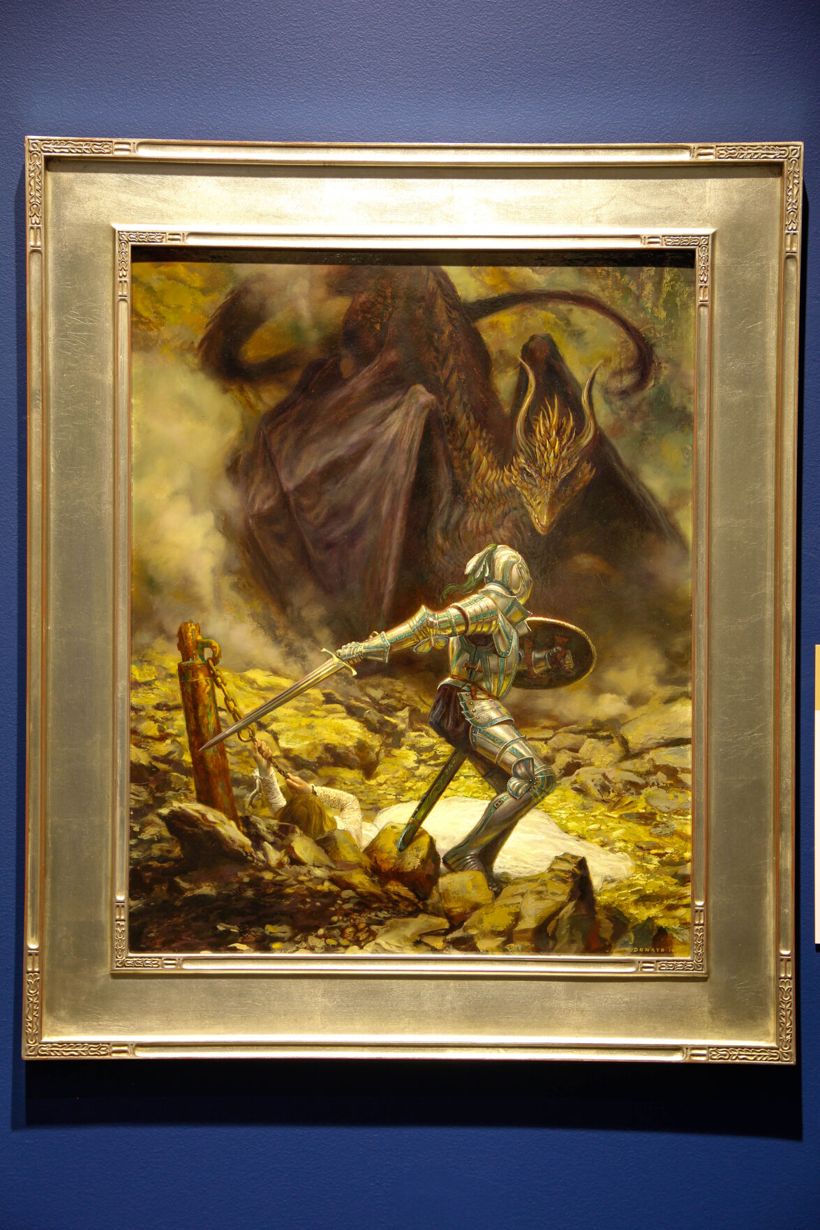 """""""St. George and the Dragon"""" by Donato Giancola"""