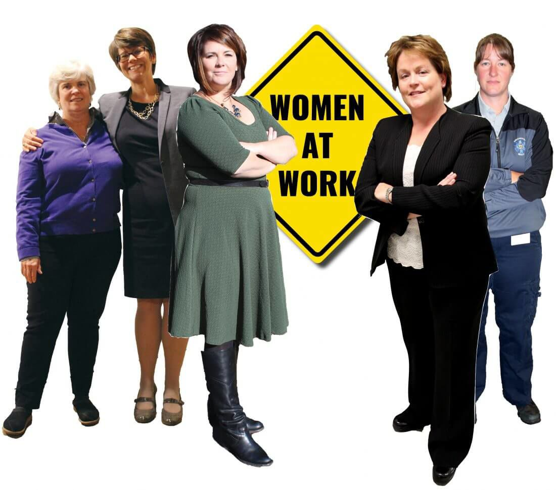 Women at work: Colchester outpaces state in female leadership