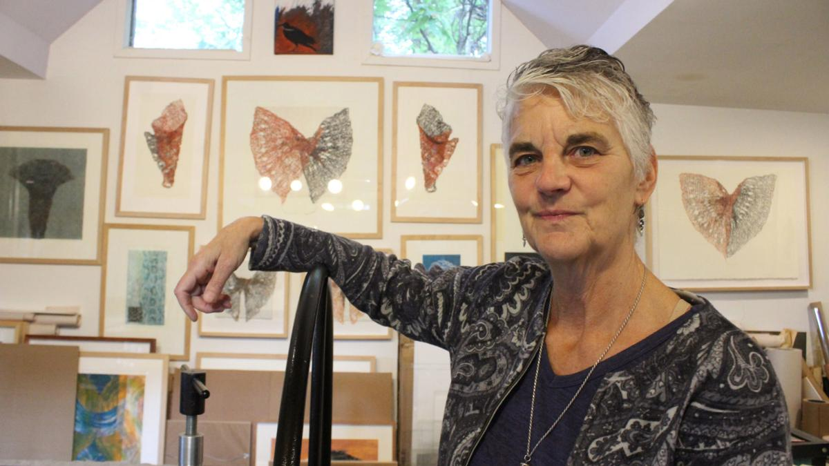 Art with wings: Colchester artist finds inspiration in crows
