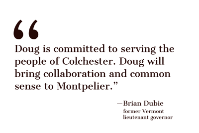Brian Dubie endorsement