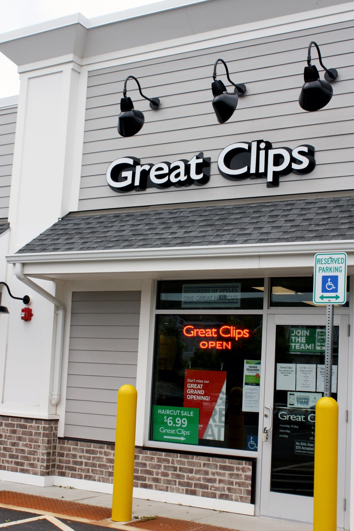 Great Clips Outside