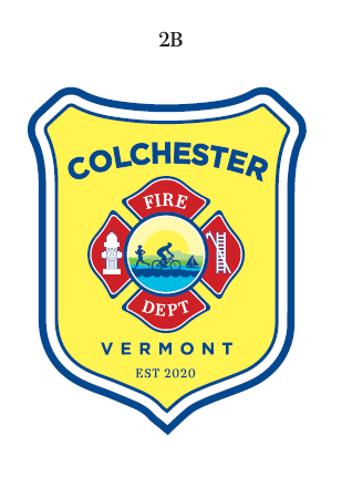 Colchester fire department patch