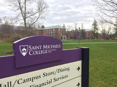 Saint Michael's college sign-img
