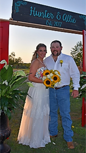 Hunter & Allie Wise Wed June 9th