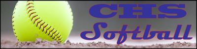 CHS Softball Masthead Bluekatt Bluekatts