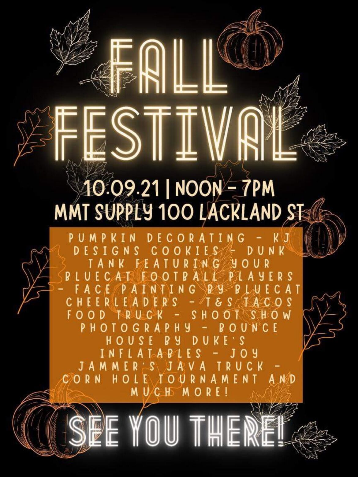 MMT Supply LLC Fall Festival
