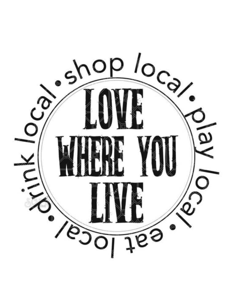 Shop Local Love Where you Live