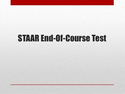 EOC Test