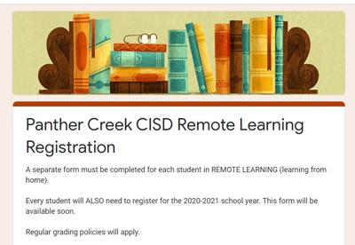 Panther Creek Remote Learning