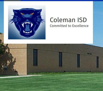 coleman isd board meeting