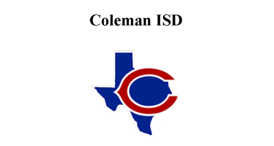 COLEMAN ISD WITH STATE