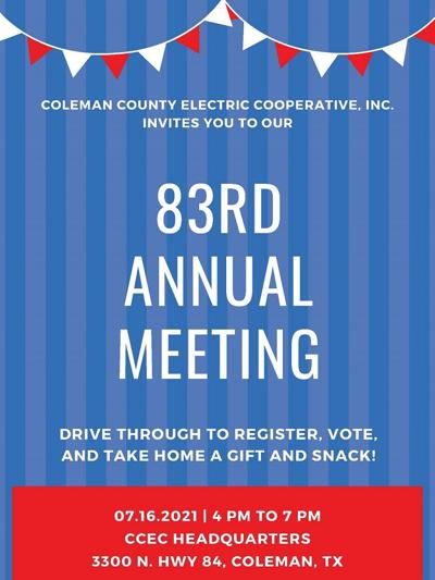 ANNUAL MEETING CCEC