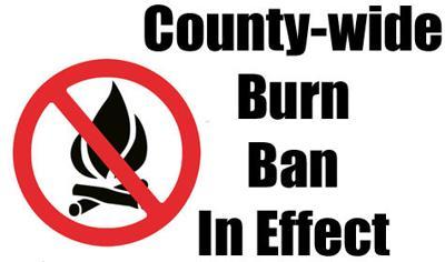 Burn Ban Remains