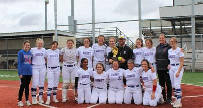 Coleman Bluekatts Softball Bi-District Champions