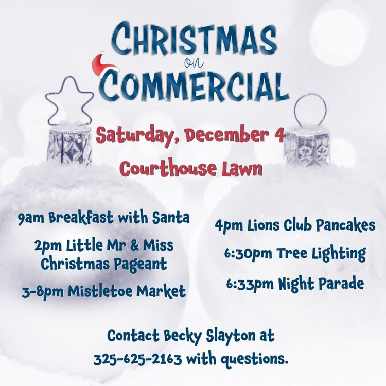 Christmas on Commercial