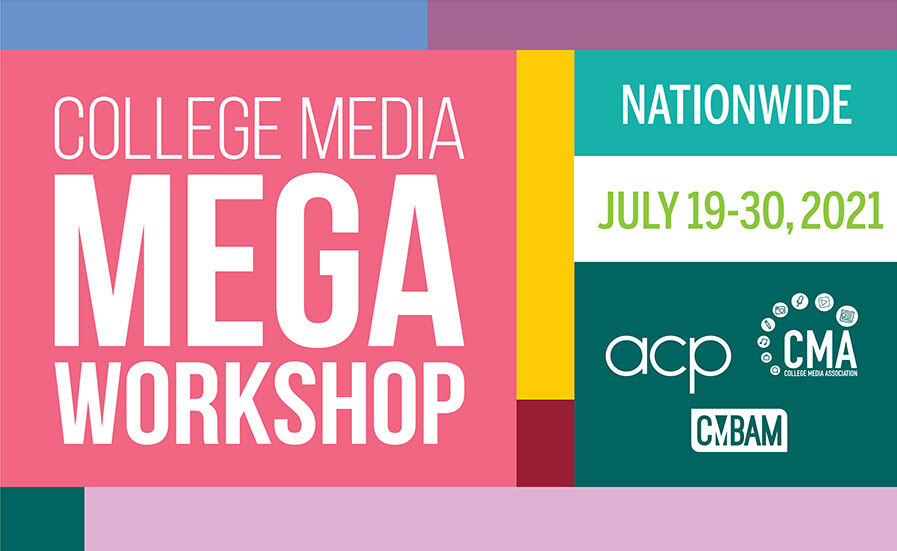 Mark your calendar for this summer's workshop, presented virtually July 19-30, 2021