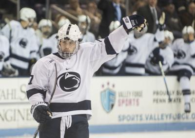 Penn State Men S Hockey S Evan Barratt Named To Usa World Junior