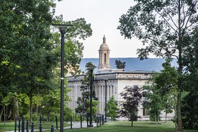 A Walk Around Campus, Steeple of Old Main