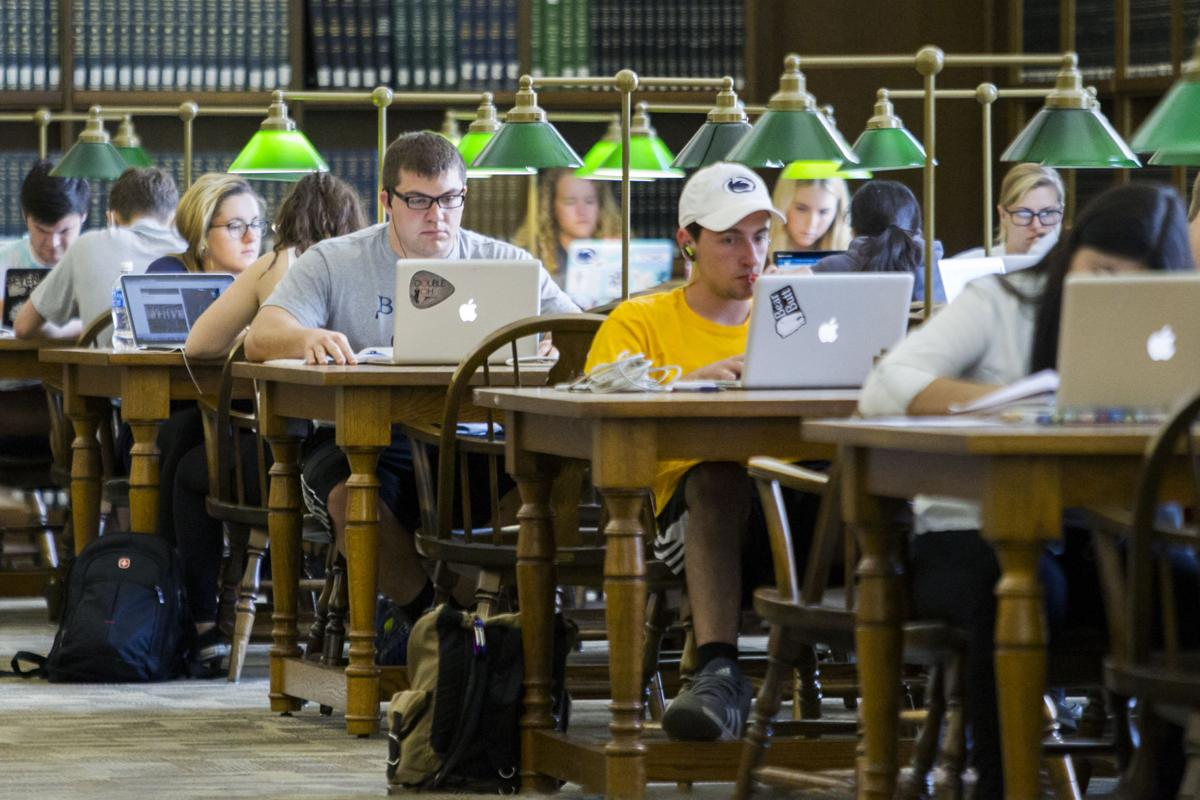 Study spots, Paterno Humanities Reading Room, Harry Potter Room