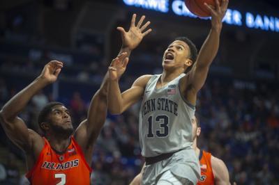 Penn State Men's Basketball vs. Illinois, Rasir Bolton (13)