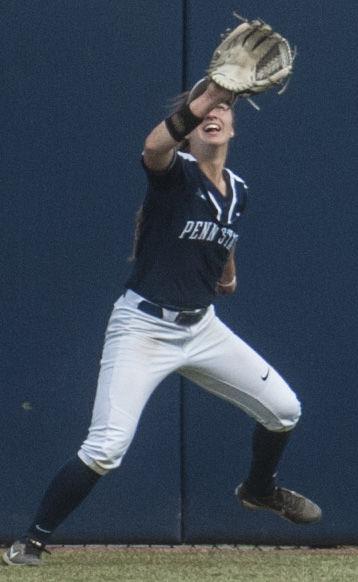 Penn State Softball vs Michigan State, Fey (8)
