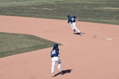 Penn State Baseball vs Maryland, Piacentino (22), Wood (14)