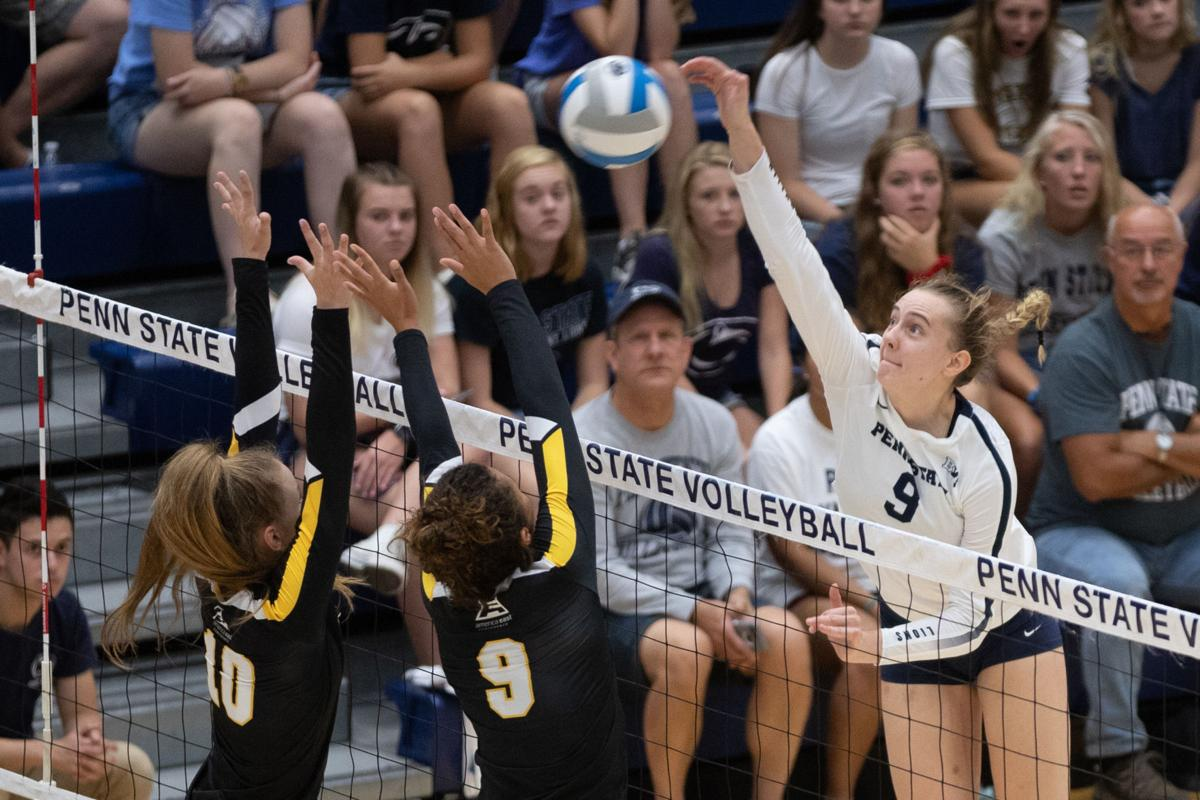 freshmen continue to show growth for penn state women's volleyball