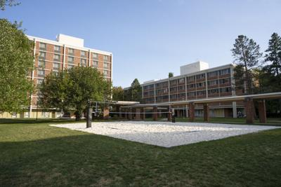 East Halls, Volleyball Court