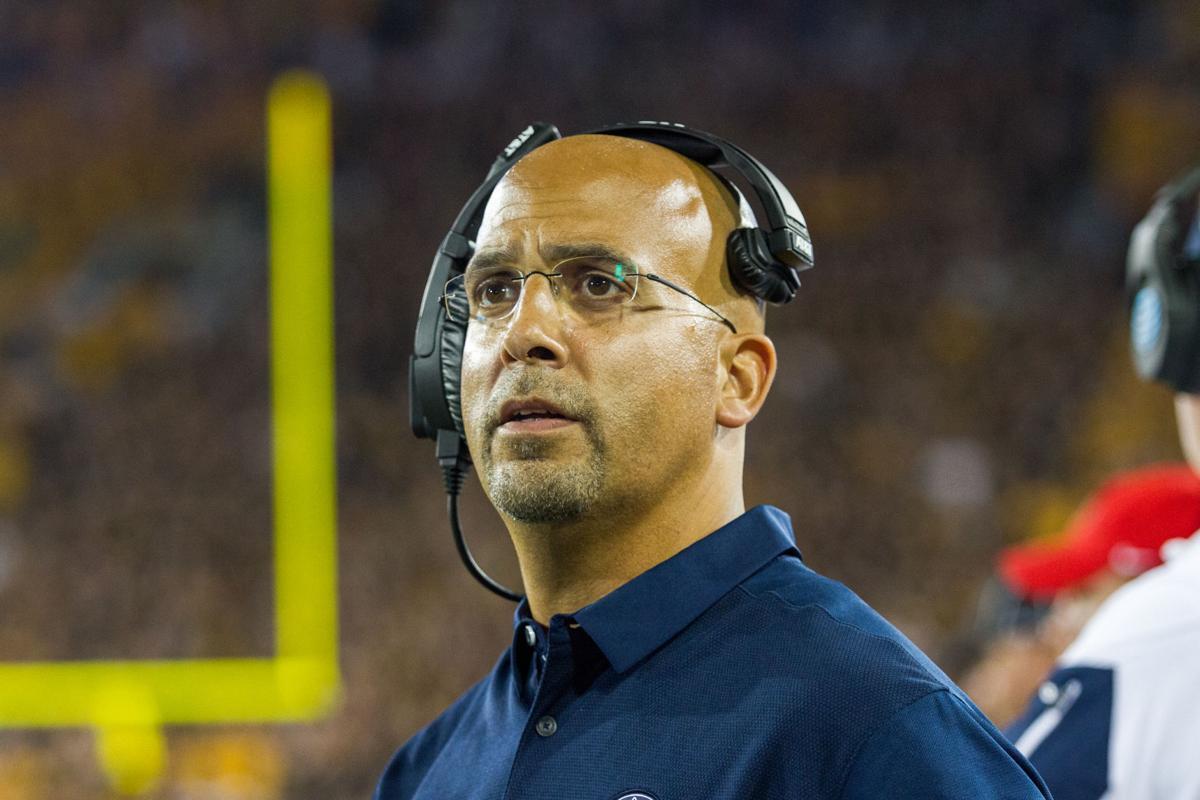 Penn State football coach James Franklin addresses ...