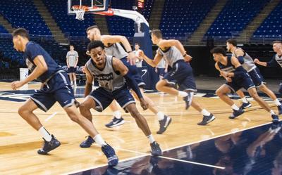 Basketball Media Day, Team Running