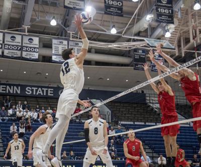 Men's Volleyball vs. Ohio State, Wildman (12)