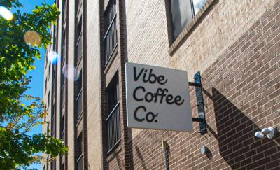 Vibe Coffee, outside