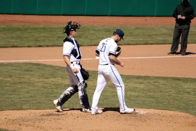 PSU Baseball vs. Maryland 3/21, Larkin (25), Spiegel (41)