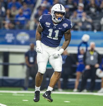 Cotton Bowl Classic, Penn State vs Memphis, Linebacker Micah Parsons (11)